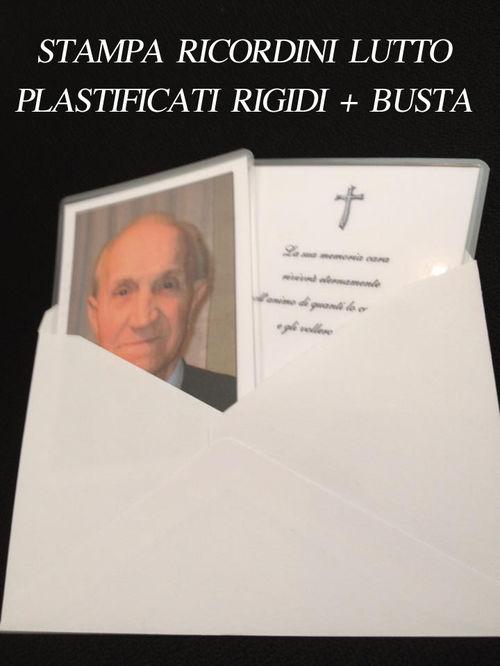 Ricordini Lutto Defunti Tipografia Online