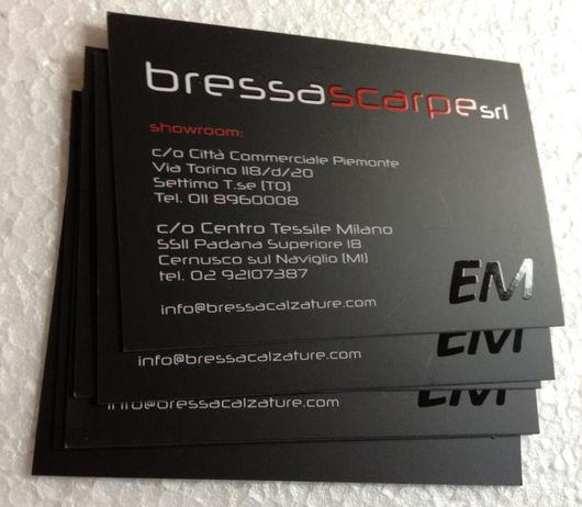 Bressa riserv for Biglietti da visita online