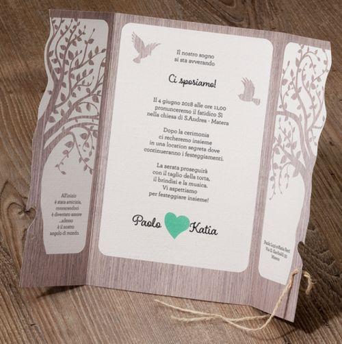 Partecipazioni Matrimonio 2018 Online.Partecipazioni Nozze Inviti 2018 Tipografia Low Cost