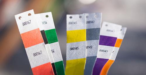economico per lo sconto 5c4fb 0d1d6 braccialetti di carta TYVEK - Tipografia online