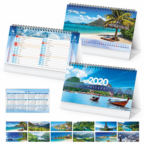 Calendario 2020 Da Compilare.Calendari Tavolo Tipografia Online